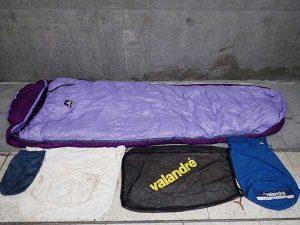 ヴァランドレ NUPTSE ヌプツェ1200 シュラフ 寝袋