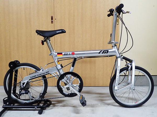 折りたたみ自転車 ミニベロ1