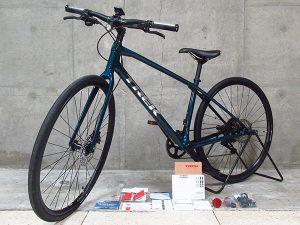 TREK トレック 2021年モデル FX Sport Carbon 4 FX4 クロスバイク サイズS DarkAquatic